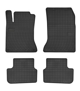 Set of custom-made rubber mats for Mercedes A