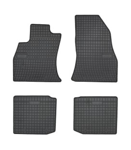 Set custom rubber car mats for Fiat 500L