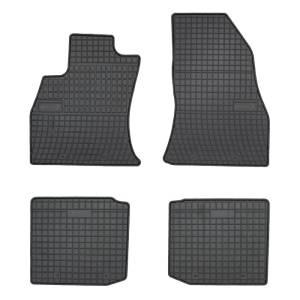 Set tapis de voiture en caoutchouc sur mesure pour Fiat 500L