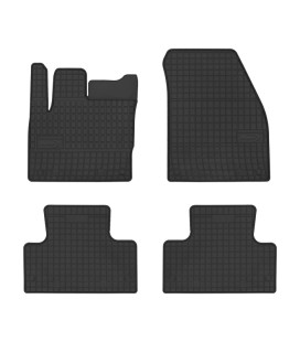 Set of custom-made rubber mats for Landrover Evoque
