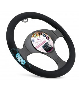 "Steering wheel cover ""MY SPRING FLOWER"""