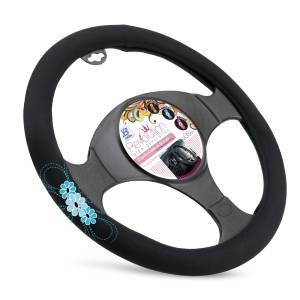 """Steering wheel cover """"MY SPRING FLOWER"""""""