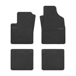 Set custom rubber car mats for Fiat Panda