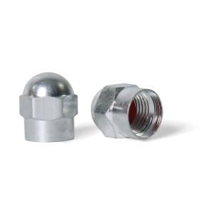 Coprivalvole in alluminio YEH, argento