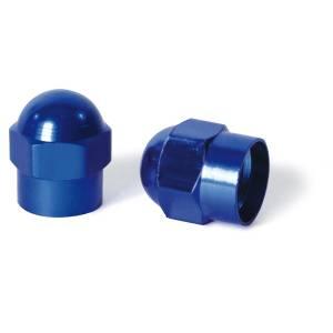 Coprivalvole in alluminio YEH, blu