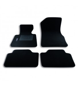 Set custom carpets in carpet for BMW series 1 (form 2012 to today)