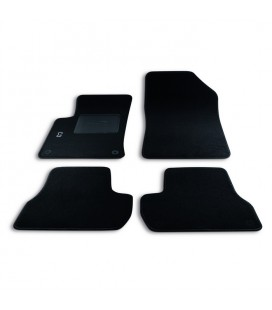 Set custom carpets in carpet for Citroen Modello C3 (2009-2016)