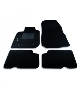 Set custom carpets in carpet for Dacia model Duster (from 2010 to today)