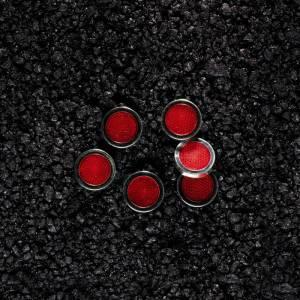 Réflecteurs adhésifs REFLEX, rouge