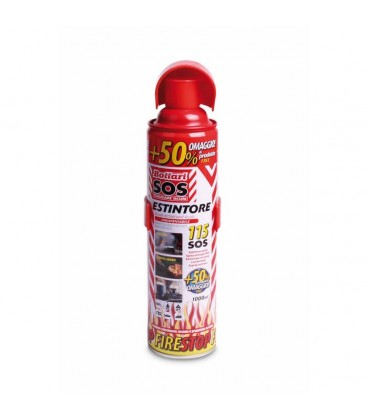 """Spray extinguisher """"FIRESTOP"""" Approved by 1000 ml"""