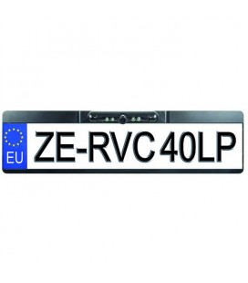 License plate holder with rear view camera ZE-RVC40LP ZENEC