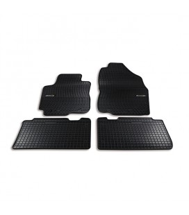 Set custom rubber car mats for Alfa Romeo Mito