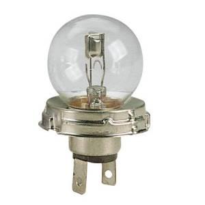 Asymmetrische 2-Licht-Lampe 12V R2 45/40 W in Luftpolsterfolienverpackung