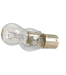 Twin filament indicator bulb 12V 21W-BA 15 S blister