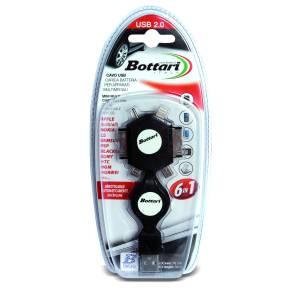 Chargeur de portable de voiture 6 adaptateurs pour differents modeles