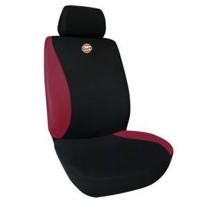Einzelsitzfutter Schwarz-Rot
