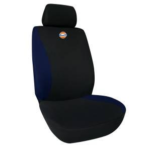 Einzelsitzfutter Schwarz-Blau