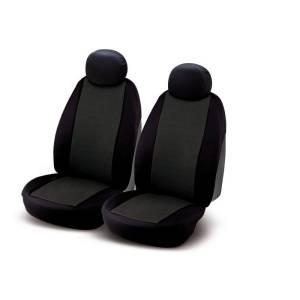 "Set of universal elasticized seat cover black ""J2"""