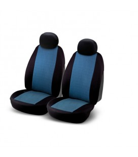 "Set of universal blue elasticized seat cover ""J2"""