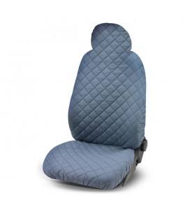 One size seat cover 1pz solid color elasticized