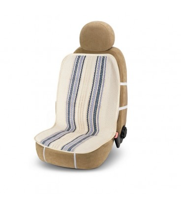 "Seat cover in straw ""Maldive"""