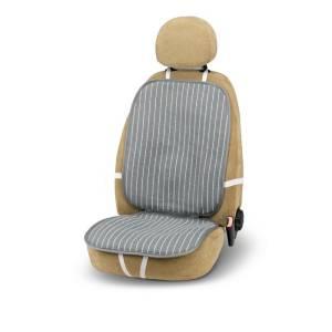 "Rafia seat cushion ""PAPER"" Black/Grey"