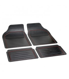 "rubber mats universal size to shape ""PERFECT "" red line"