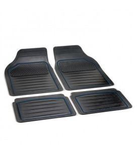 "rubber mats universal size to shape ""PERFECT "" blue line"