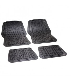"Set of rubber mats universal size to shape ""RADIAL"""