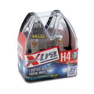 Set 2 pz lampade xenon rainbow blu 12V H4 60/55 W X-TRA