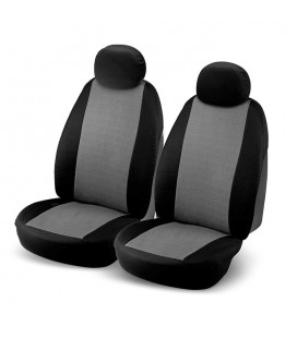 "Set of universal elasticized seat cover grey ""J2"""