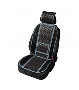 "Bamboo seat cushion ""CARRERA"" black"