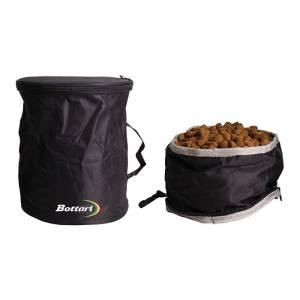Set borsa per cibo e ciotola impermeabile