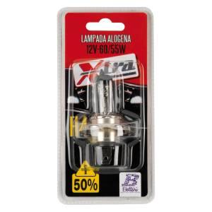 Halogen lamp 12V H4 60/55 W P43t blister