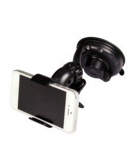 Mobile phone holder and small navigator holder with spring clips