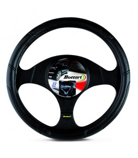 "Steering wheel cover ""STYLISH"" for cars and vans 35/37 cm Black"