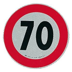 Adesivo velocità omologato 70 km/h