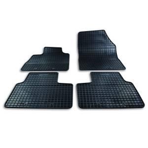 Set custom rubber car mats for Renault Scenic