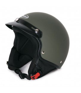 CASCO ECLIPSE VERDE OPACO AIR-FORCE S