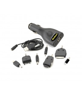 Car phone charger 5V-1A (DC12/24V)
