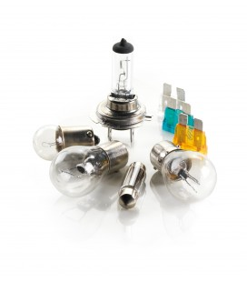 Halogen H4 lamp kit + 50% brightness
