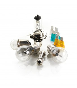 Halogen H7 lamp kit + 50% brightness