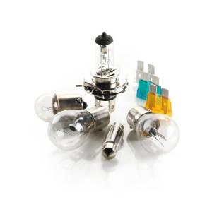 Kit lampade alogene H7+50% di luminosità
