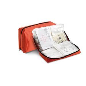 Kit Pronto Soccorso modbido con zip e velcro Omologato DIN 13164