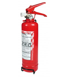 Fire extinguisher approved by 1 kg with gauge made in Italy SOS