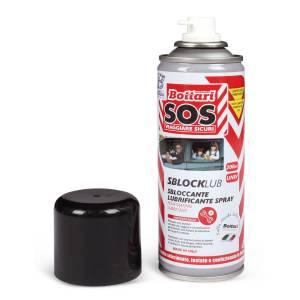 Sbloccante lubrificante spray da 200ml per auto moto e bici